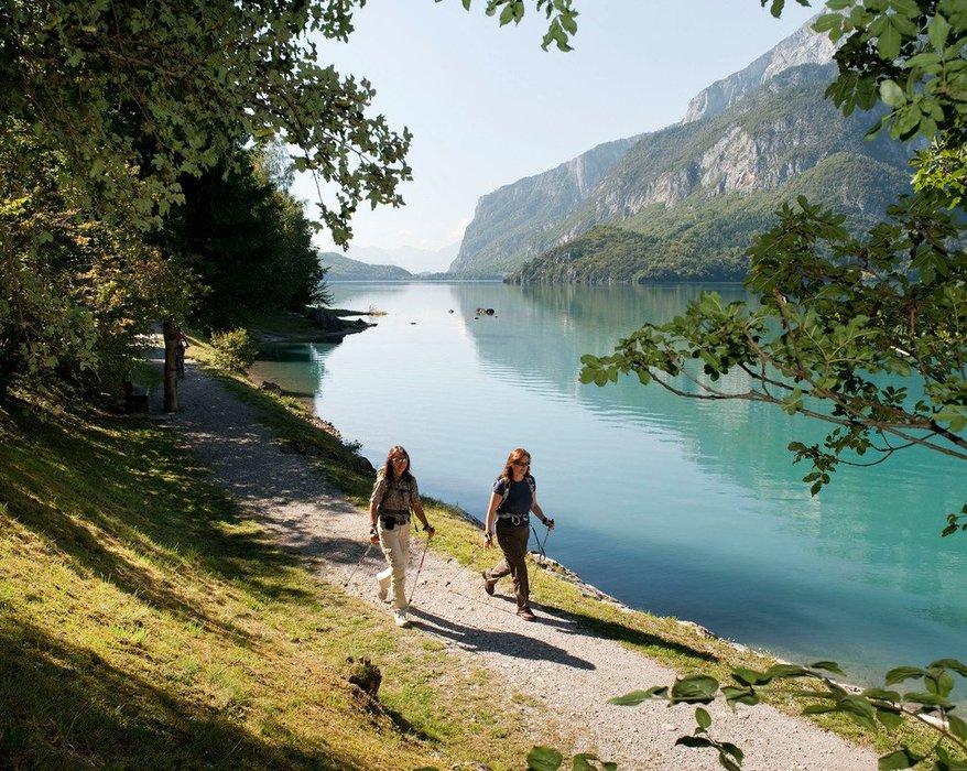Wandern am Molvenosee - ©Paganella