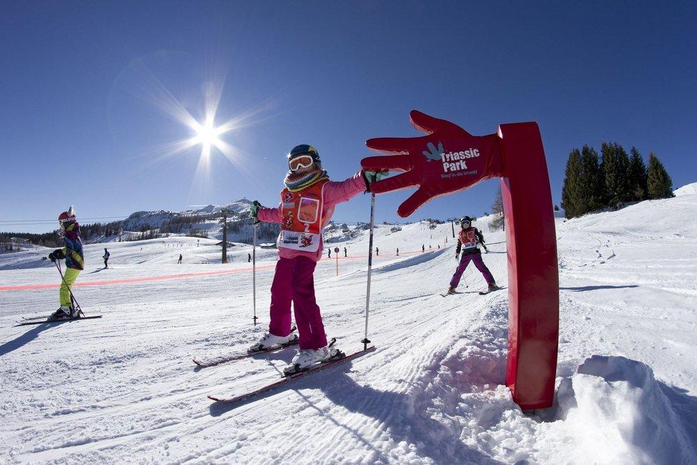 Funslope im Skigebiet Steinplatte-Waidring - © Bergbahnen Steinplatte