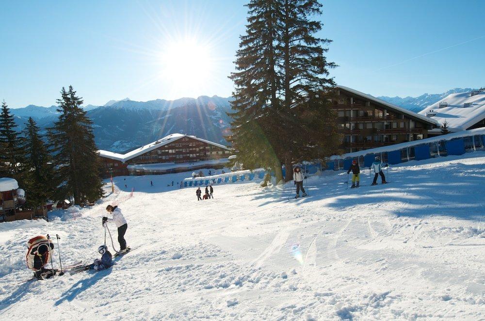 Eindrücke aus dem Skigebiete Anzère - © Anzère Tourisme
