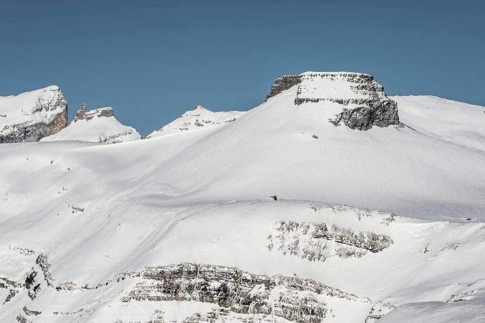 Spektakuläre Felsformationen im Skigebiet Brigels - Andiast - Waltensburg - © Surselva Tourismus AG