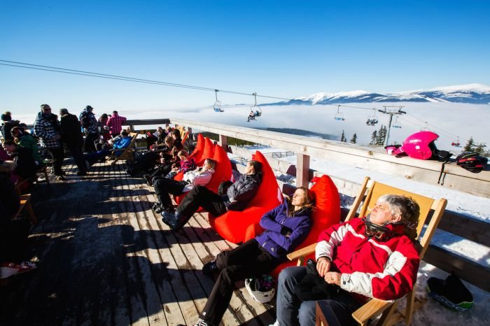 Relax a horské sluníčko - Skiareál Špindlerův Mlýn - © Skiareál Špindlerův Mlýn