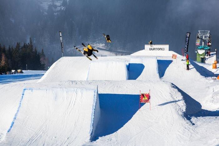 Snowpark ve Skiareálu Špindlerův Mlýn - © Skiareál Špindlerův Mlýn