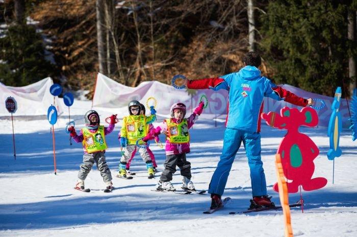 Místo jako stvořené pro děti a jejich první krůčky na lyžích - © Skiareál Špindlerův Mlýn