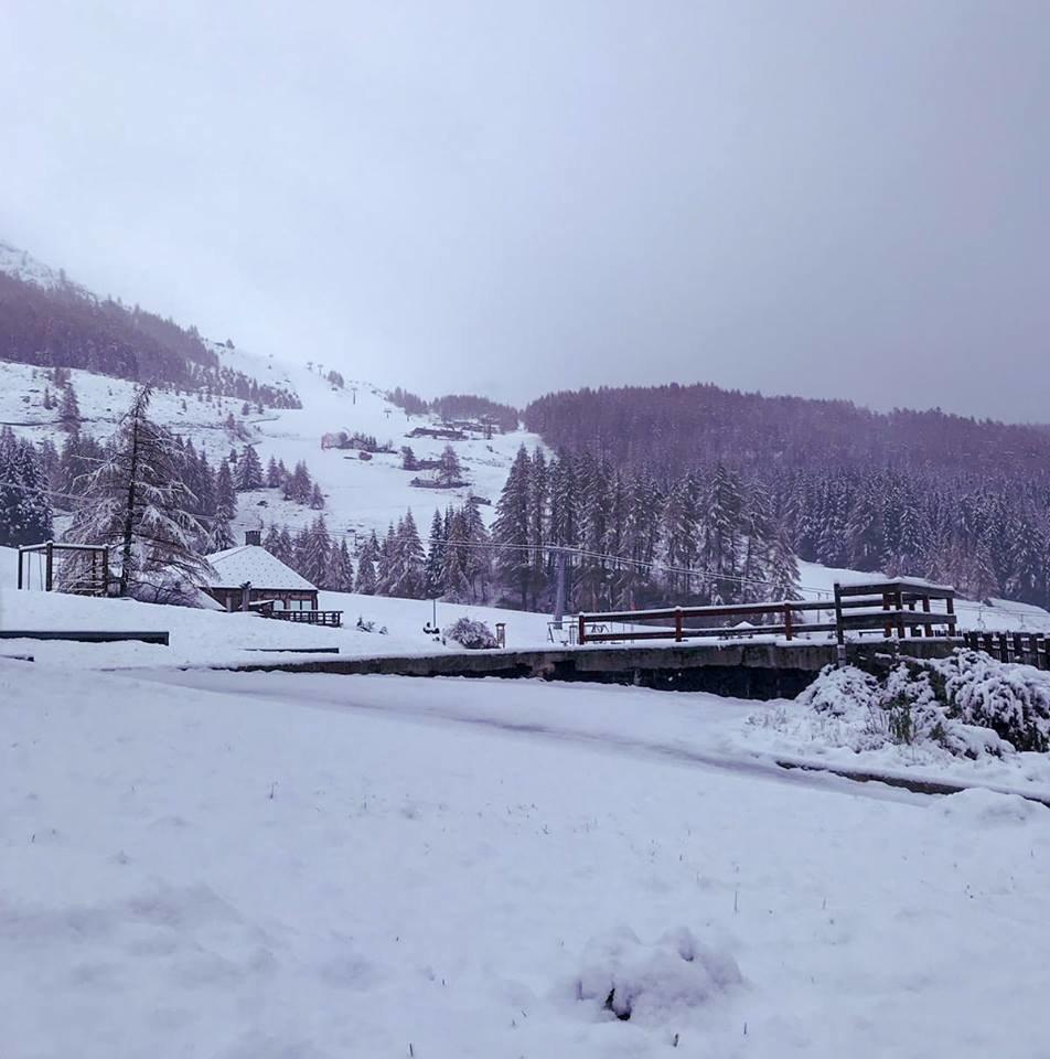 Madesimo - Neve fresca sulle Alpi 27-28 Ottobre 2018 - © Discover Madesimo Facebook