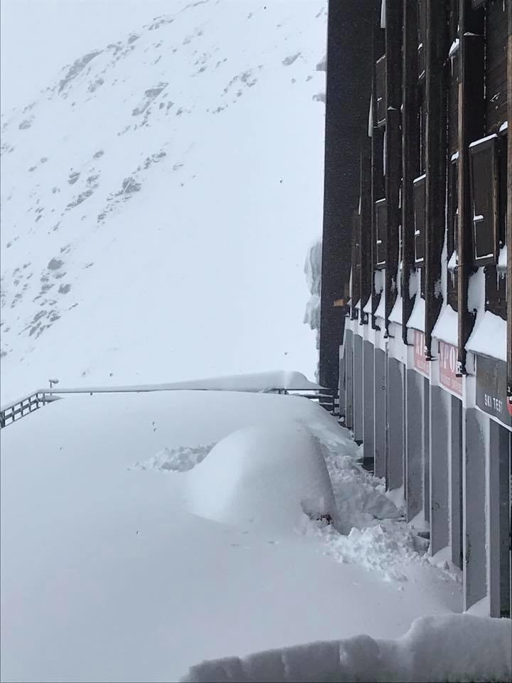 Passo dello Stelvio - Neve fresca sulle Alpi 27-28 Ottobre 2018 - © Pirovano Stelvio Facebook