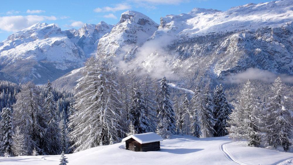 Winterlandschaft in Südtirol - © IDM Südtirol/Freddy Planinschek