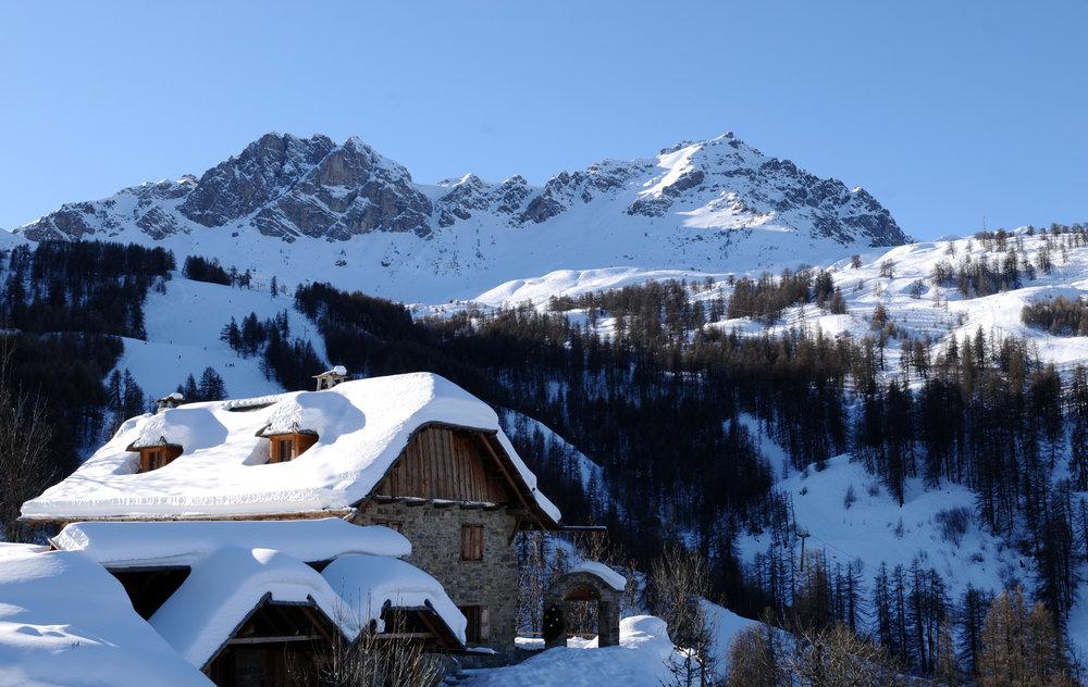 Ambiance et paysage hivernal au Sauze - © Claude Gouron