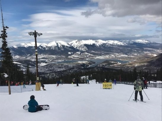 Keystone - only one main side so lil crowded but great for season warm ups - © anonymous