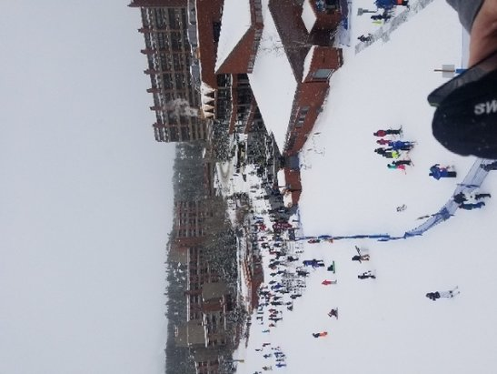Breckenridge - Great skiing, snowed most of the day!! - © anonymous