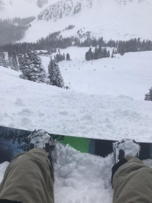 Arapahoe Basin Ski Area - nice dump this weekend, choppy and thin in spots  - © anonymous
