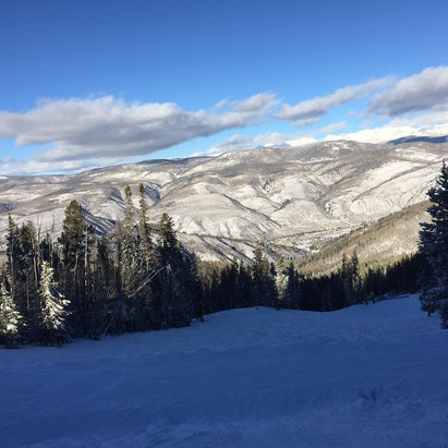 Beaver Creek - Great powder days Sunday and Monday.  Snow condition is great and new runs are opening everyday! - © Rebeca Hanrahan