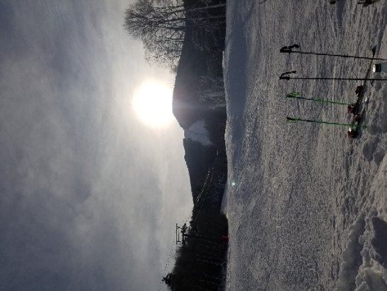 Loon Mountain - So this is skiing in November at  Loon. AWESOME - © anonymous
