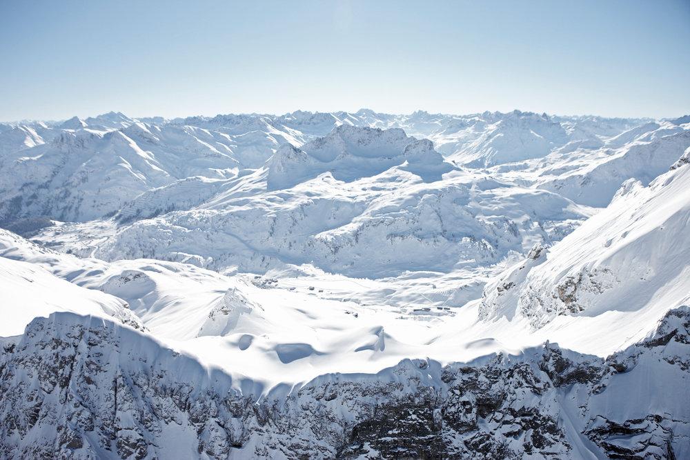 Warth-Schröcken Panorama - © Skigebiet Warth-Schröcken