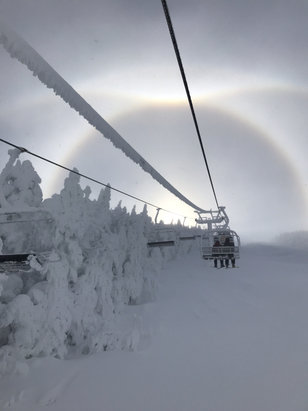 Cannon Mountain - 12/1 awesome day.    - © Anonymous
