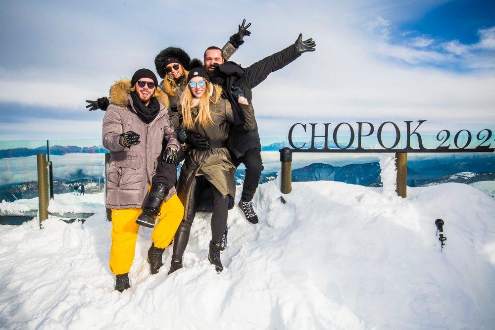Slávnostný štart lyžiarskej sezóny v Jasnej si nenechali ujsť ani celebrity - © TMR, a.s.