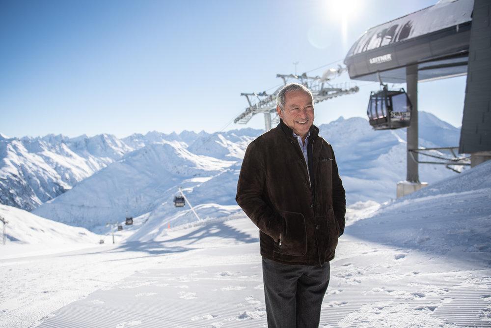 Einweihung der Skigebietsverbindung Andermatt-Sedrun mit der ersten offiziellen Fahrt der Gondelbahn Schneehüenerstock - Express - © Skiarean Andermatt-Sedrun | Valentin Luthiger
