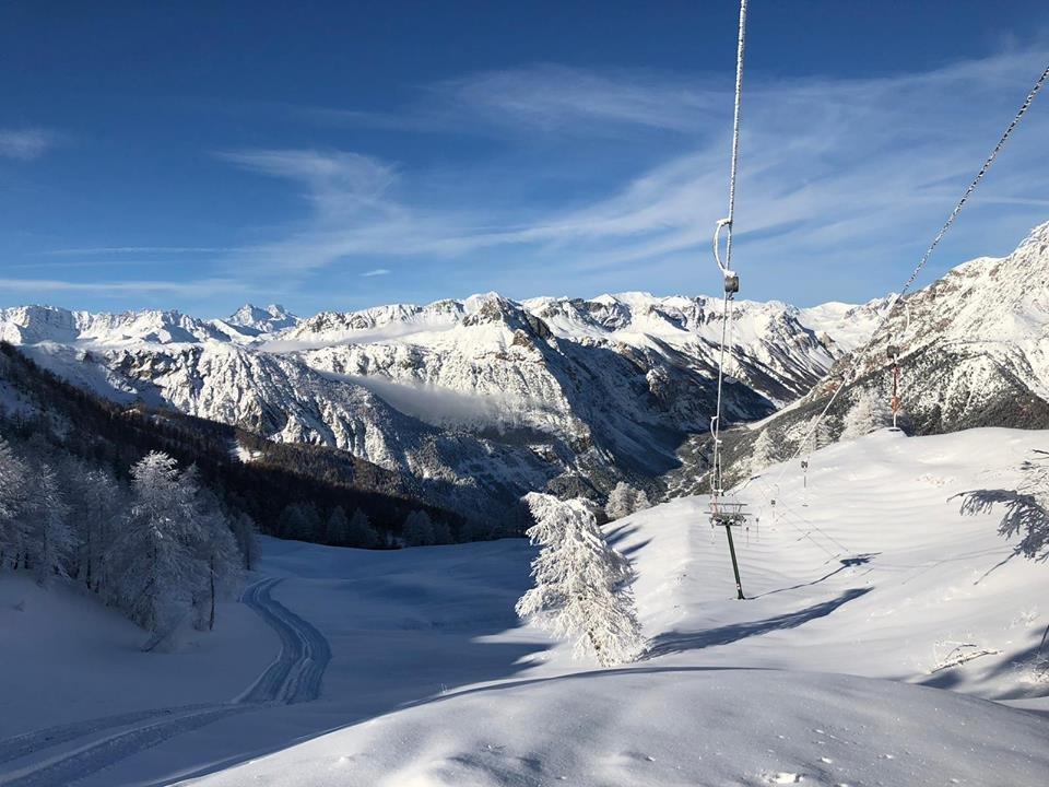 In Bardonecchia hat es am 24.11.18 ordentlich Neuschnee gegeben - © Bardonecchia/Facebook