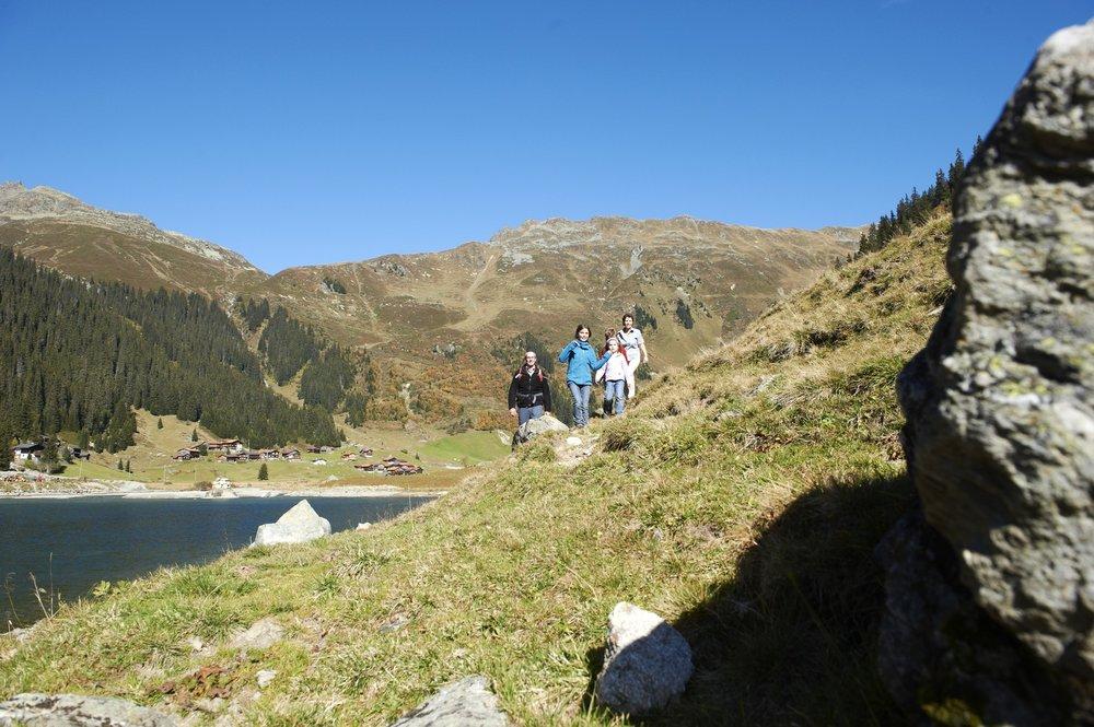 Wandern in Madrisa - © Davos Klosters/Stefan Schlumpf