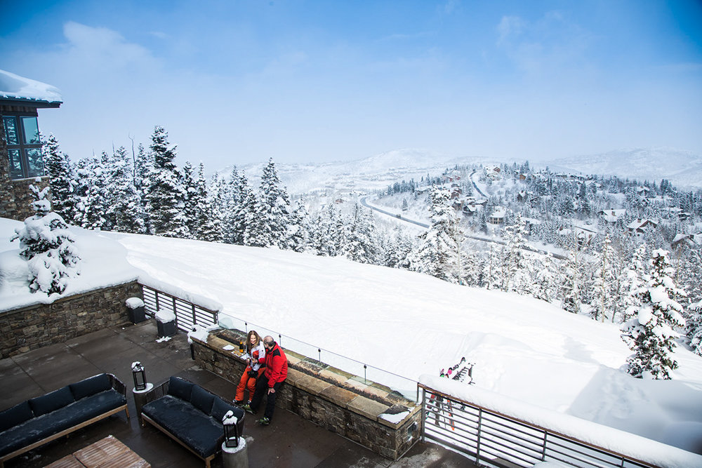 Consistently top-rated for customer service, Deer Valley Resort also serves up more than 100 trails across six mountains and some of the state's best dining and lodging accommodations. - © Adam Clark
