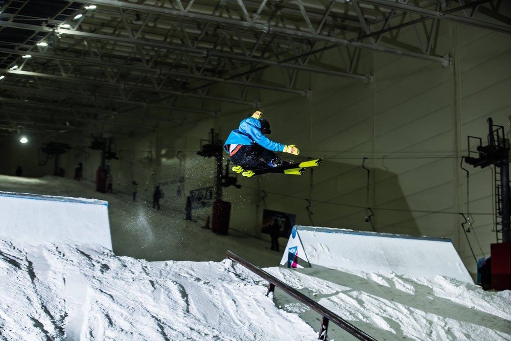 Freestyler grabs some air at Snow Factor - © Snow Factor