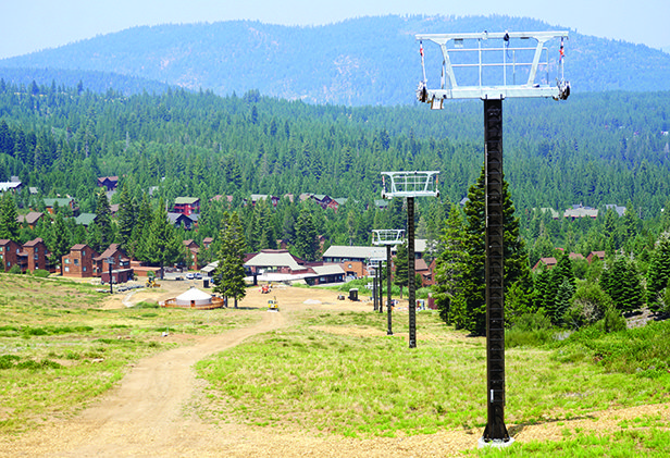 The new Snowbird Chairlift is on schedule to debut opening day.  - © Derek Moore