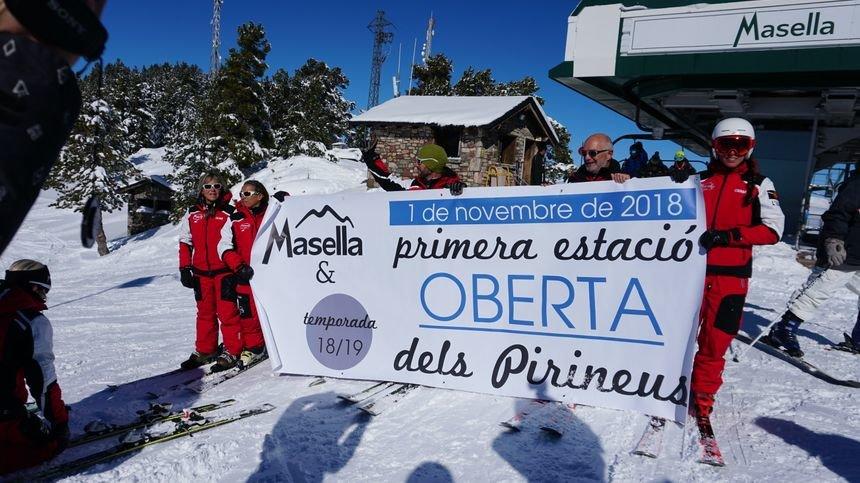 Saisonstart Masella - © Station de ski de Masella