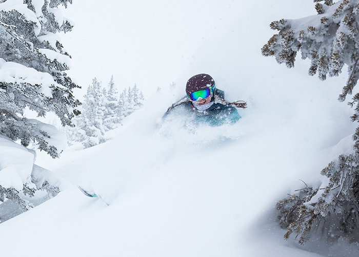 It's never too late to get your powder fix. - © Alta Ski Area | Adam Clark