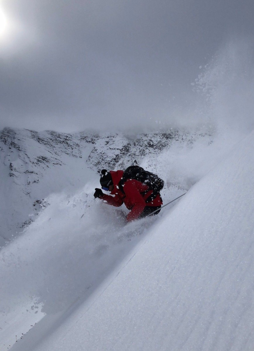Silverton Mountain redefines what skiing can look like in early October. - © Silverton Mountain