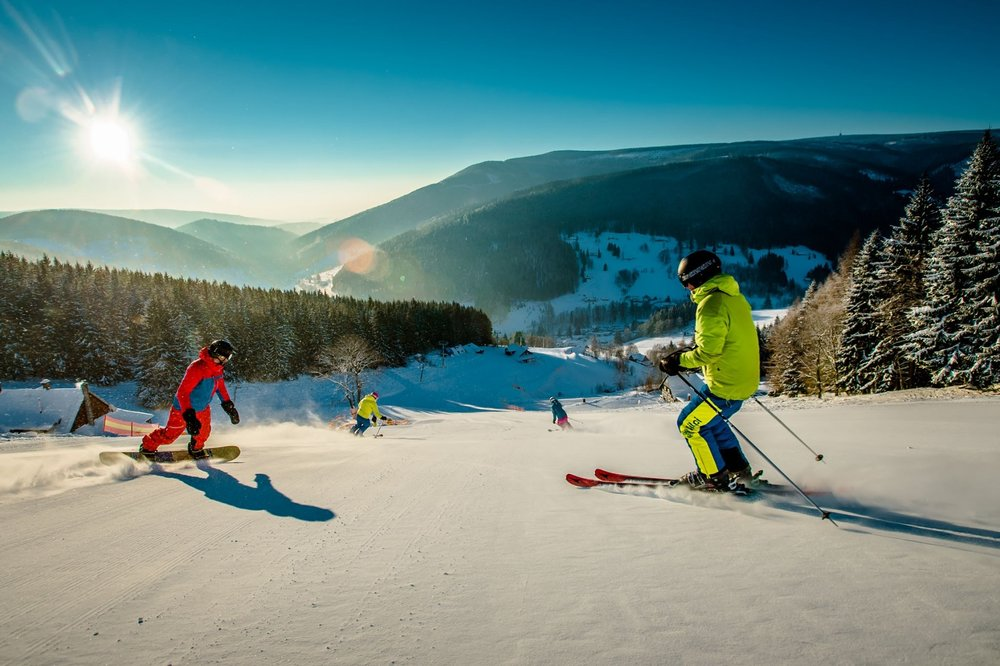 Zjazdovky v lyžiarskom stredisku Velká Úpa - © SkiResort ČERNÁ HORA - PEC