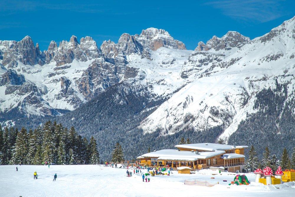 Rifugio Dosson, Skaireál Dolomiti Paganella - © C. Diederik