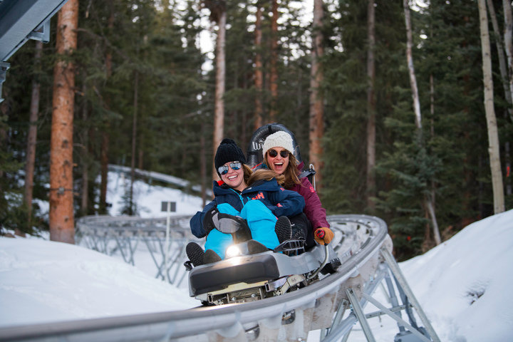 Snowmass' new Breathtaker Alpine Coaster runs for more than a mile. - © Aspen Skiing Company