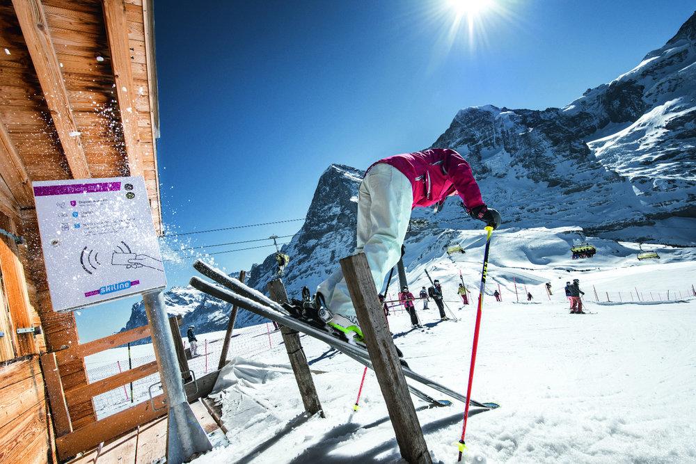 Starthaus der Lauberhorn-Rennstrecke - © Jungfrau Region