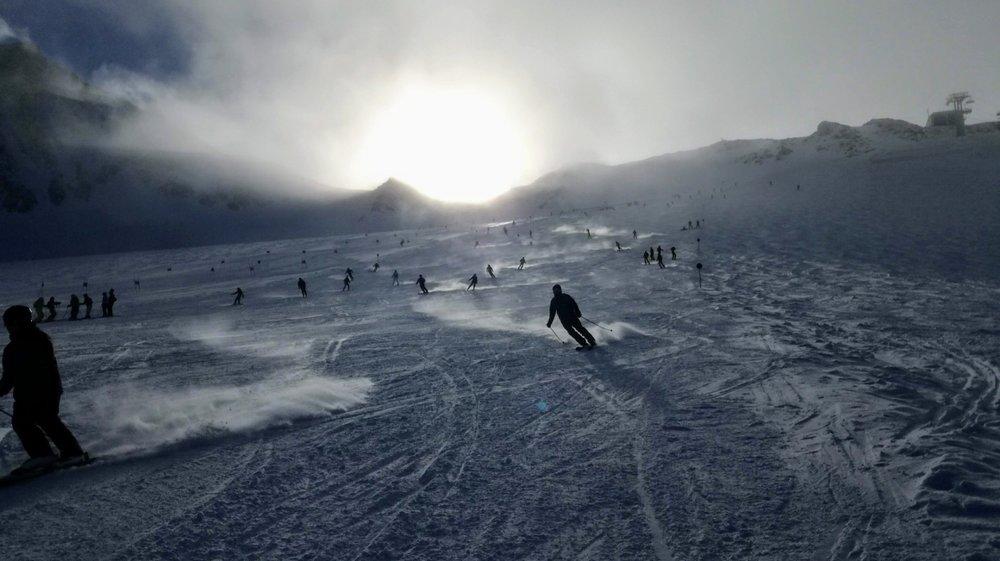 Impresje z lodowca Stubai - Fernau - 1.12.2018 - © Tomasz Wojciechowski