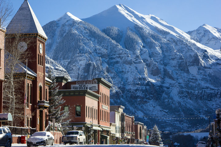 Telluride was established in 1878 as a mining town. Its original name was Columbia. - © Visit Telluride/Ryan Bonneau