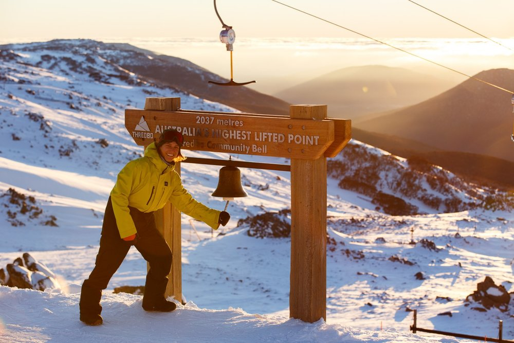 High atop Thredbo, Australia.  - © Ryan Dobbins, Alterra Mountain Co.
