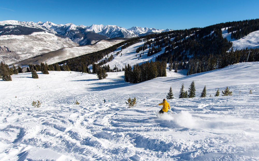 Hey, where'd everybody go? - © Vail Ski Resort