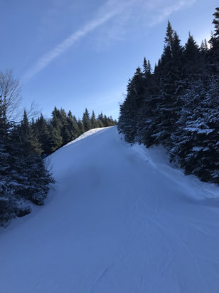 Gore Mountain - Sooo nice. Busy but great conditions.  - © Susan's iPhone