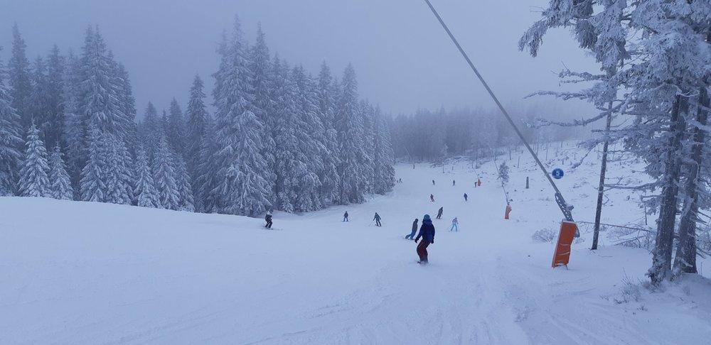 Veľmi dobré snehové podmienky v Jasnej 26.12.2018 - © TMR, a.s.
