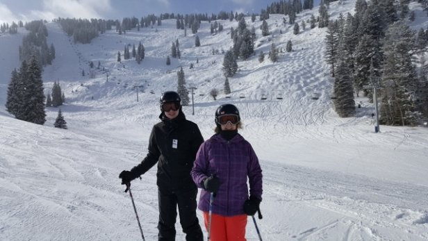 Solitude Mountain Resort - We skied 12/22 - 12/27. Fresh snow every day. Plenty of untracked available.   - © Ron and Aiden