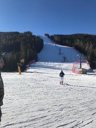 Alpe Cimbra - Folgaria - Lavarone - neve sparata, ma han fatto un ottimo lavoro e si scia molto bene! divertente anche con la tavola! - © MATTIA