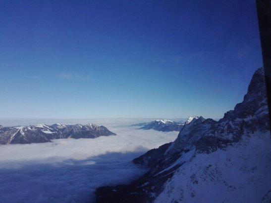 Zugspitze - es war heute ein sch - © Anonym