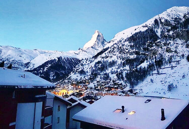 Zermatt - Great view but not super condition for ski.  - © wonderlust