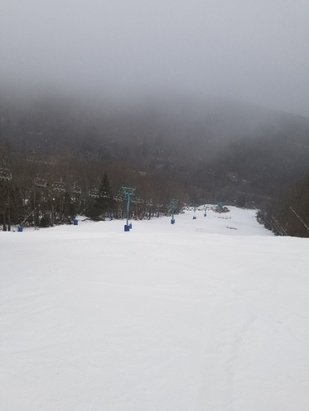 Holiday Valley - Great conditions if you're used to skiing this area.  Worth the trip. - © pdubs23