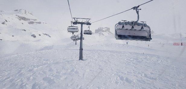 Valtournenche - sabato 06 gennaio piste aperte ma con molto vento. Neve buona ma piste ghiacciate  - © Matteo 1967
