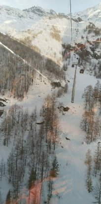 Saas Fee - comme d'habitude superbe neige et pistes nickel  - © Raphaël M.