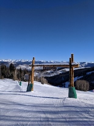 Beaver Creek - The chutes are not open which is a bummer since there's plenty of powder back there. Still good conditions on the groomers but when that gate opens it'll be worth the wait - © JMeeks
