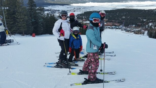 """Angel Fire Resort - The mountain is in really good condition for 29"""" of base. Blue's & Greens are good. Blacks need some snow. Best family mountain in New Mexico.  - © anonymous"""