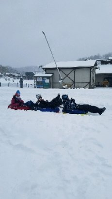 Bryce Resort - conditions for skiing and tubing on Sunday were awesome and it wasn't crowded either - © anonymous