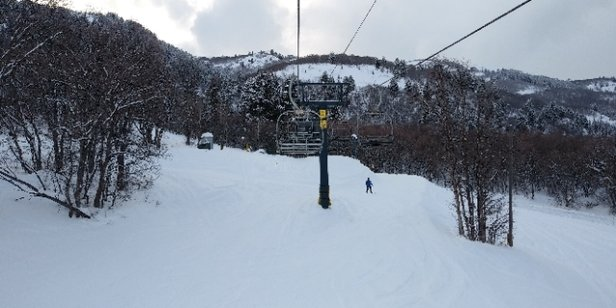 "Nordic Valley Resort - Nordic Valley received about 6"" of new snow. Not 2"" - © anonymous"