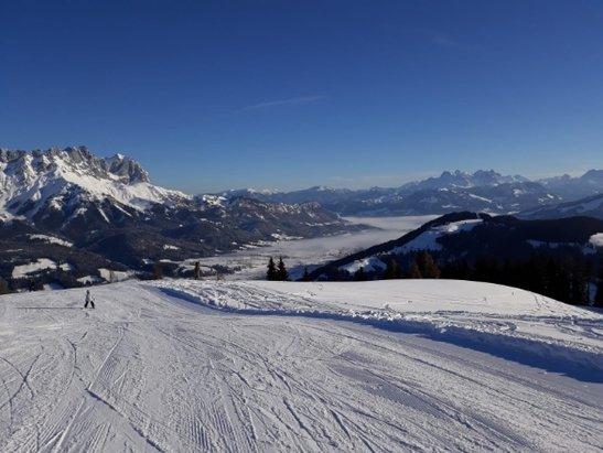 Ellmau - SkiWelt - Super Schnee, tolles Wetter, viel besser geht's nicht  - © Laute